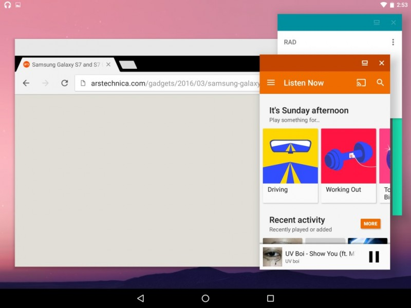 Freeform: Android N Kini Juga Support Multi-window Seperti Windows