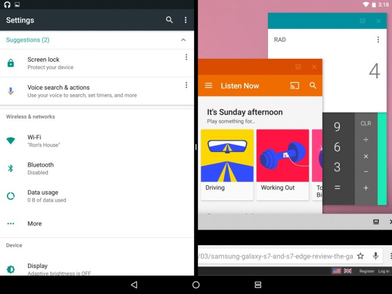 Freeform: Android N Kini Juga Support Multi-window Seperti Windows