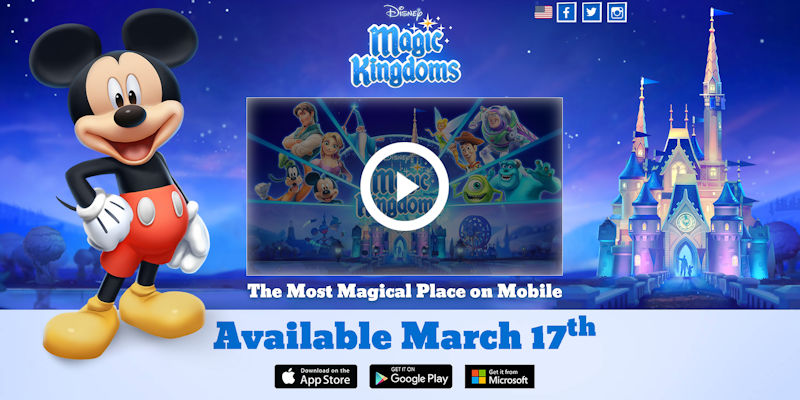 Disney Magic Kingdom Segera Tersedia di Windows Store
