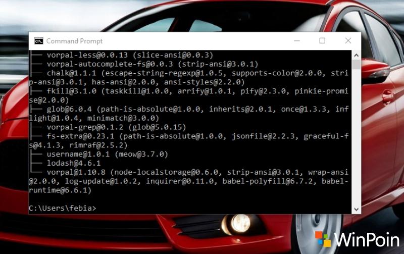 CASH Shell: Membawa Command Line (Terminal) Linux ke Windows