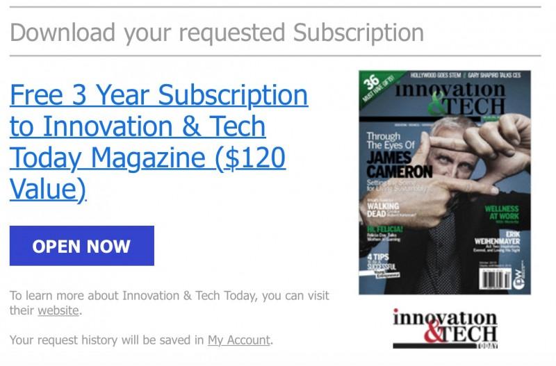 TERBATAS: Dapatkan Berlangganan Majalah Teknologi GRATIS Selama 3 Tahun (Senilai 1.6 juta rupiah!)