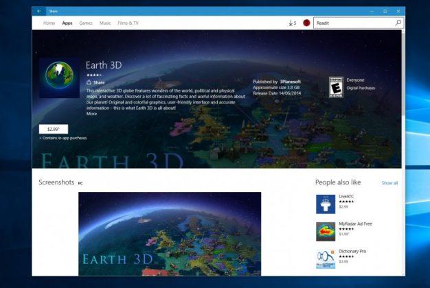 Microsoft Sedang Menguji Desain Baru Windows Store untuk Windows 10 Anniversary Update