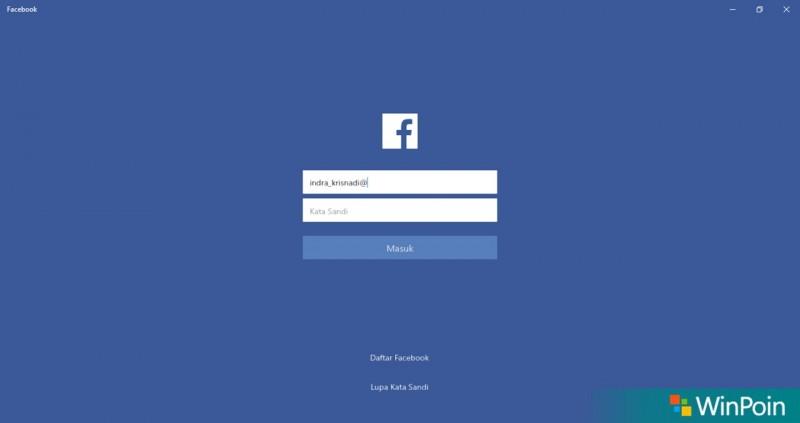 Facebook UWP Windows 10-1
