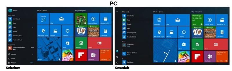 Microsoft Berencana Merubah Tampilan 'All Apps' Pada Start UI Windows 10 dengan Bantuan Feedback dari Insider