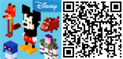 QR Disney Crossy Road