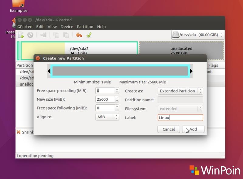 Cara Dual Boot Ubuntu 16.04 LTS dan Windows 10 (Full Tutorial)