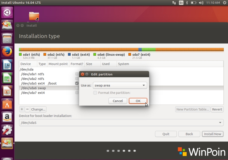 Cara Dual Boot Ubuntu 16.04 LTS dan Windows 10 (Full Tutorial)