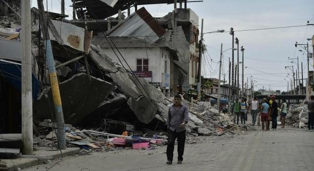 Skype Gempa Ekuador