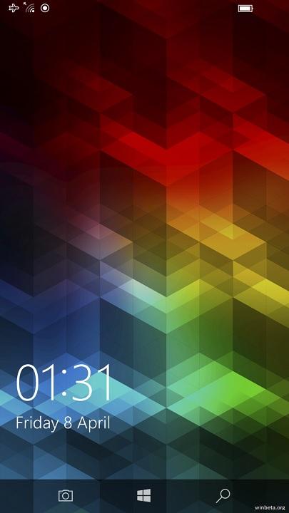 Tombol Kamera Lock Screen Windows 10 Mobile