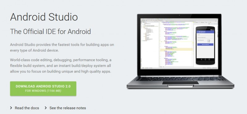 Android Studio 2.0 untuk Windows Sudah Dirilis dengan Fitur Baru