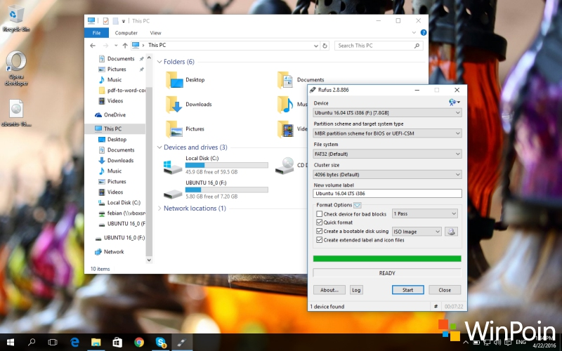 Cara Membuat Bootable USB Flashdisk Ubuntu di Windows (Full Tutorial)