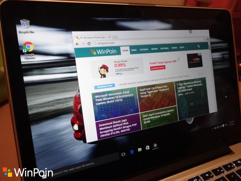 Google Chrome 50 Dirilis, Kini Tidak Lagi Support Windows XP dan Vista