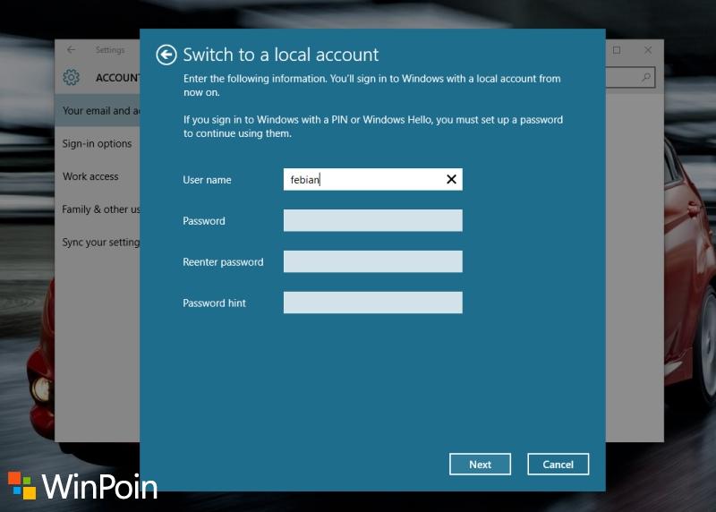 2 Cara Mengganti Email Windows 10