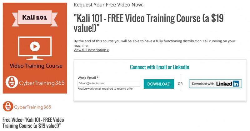 Dapatkan Video Tutorial: Jago Kali Linux untuk Hacking & Security Testing Senilai $19 (GRATIS!)