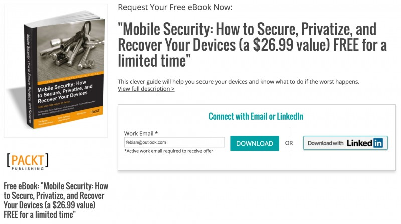 "Download Ebook Premium ""Mobile Security: Bagaimana Membuat Device Kamu Super Aman"" (Senilai $26.69, GRATIS!)"