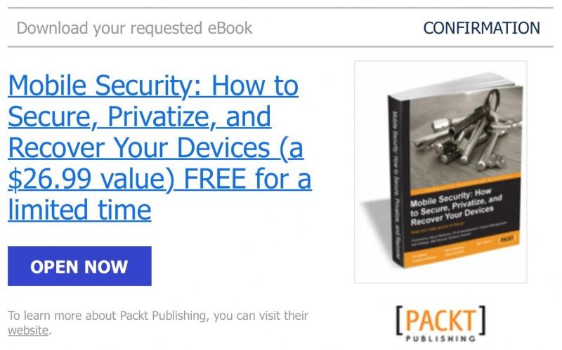 """Download Ebook Premium """"Mobile Security: Bagaimana Membuat Device Kamu Super Aman"""" (Senilai $26.69, GRATIS!)"""