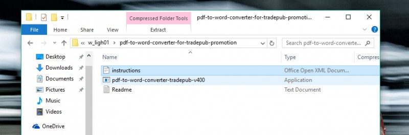 "Download Software + Lisensi ""PDF to Word Converter Pro"" Senilai $29.99 (Gratis!)"