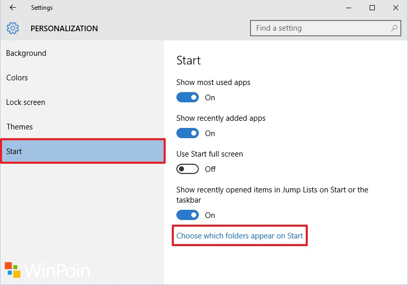 Cara Mengembalikan Menu Setting Pada Start Menu Windows 10