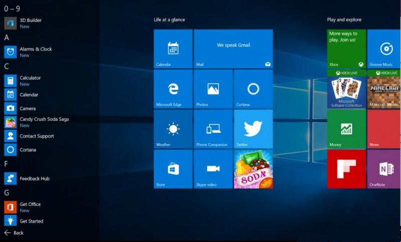 Seperti Inilah Start Menu Baru di Windows 10 Anniversary Update, Yes or No?