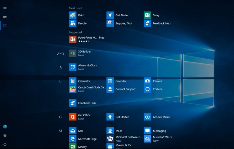 Seperti Inilah Start Menu Baru di Windows 10 Anniversary Update, Yes or No?