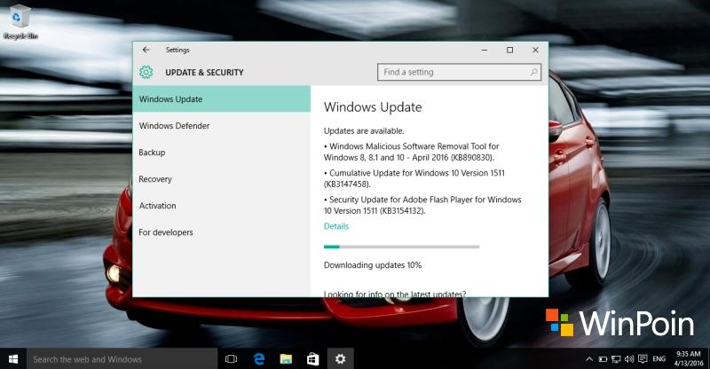April Cumulative Update untuk Windows 10 PC Dirilis, Inilah Peningkatannya