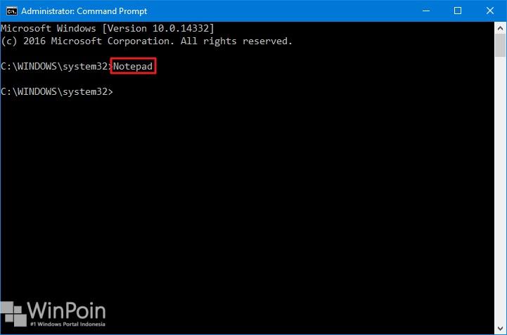 7 cara membuka notepad di windows 10 (8)