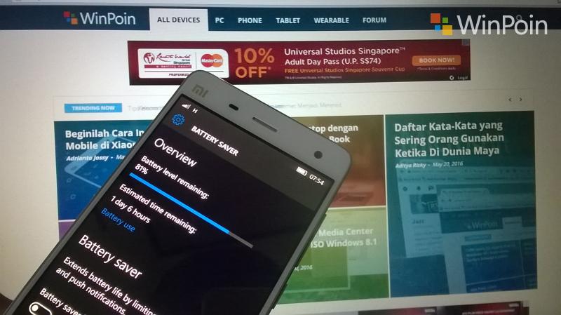 Review Xiaomi Mi4 LTE Windows 10 Mobile Part 1