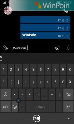 Cara Merubah Format Text di WhatsApp Windows Phone