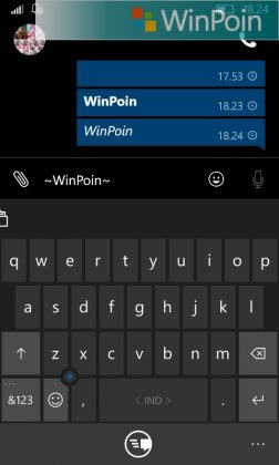 Cara Merubah Format Text di WhatsApp Windows Phone