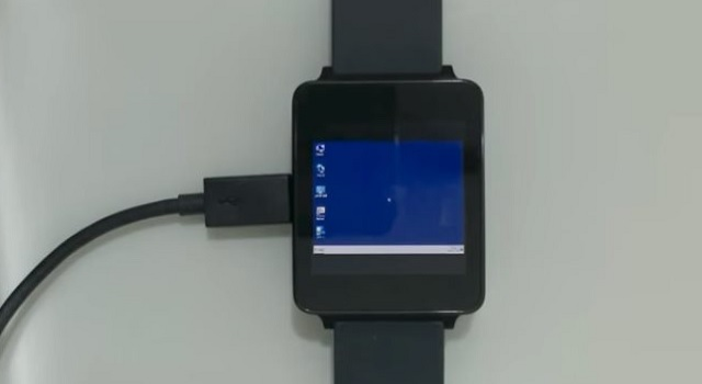 Smartwatch Android Wear Windows 7