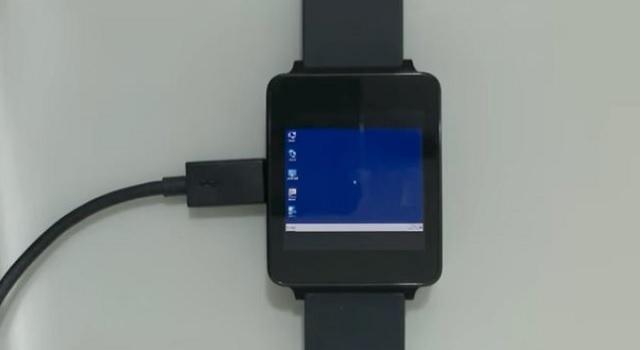 Smartwatch Android Wear Windows 7