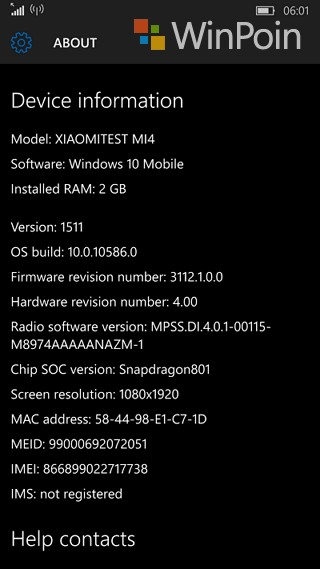Review Xiaomi Mi4 LTE Windows 10 Mobile Part 1