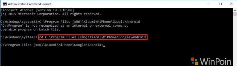 Xiaomi Mi4 Proses Falshing 2