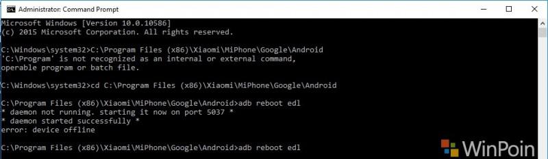 Xiaomi Mi4 Proses Falshing 3