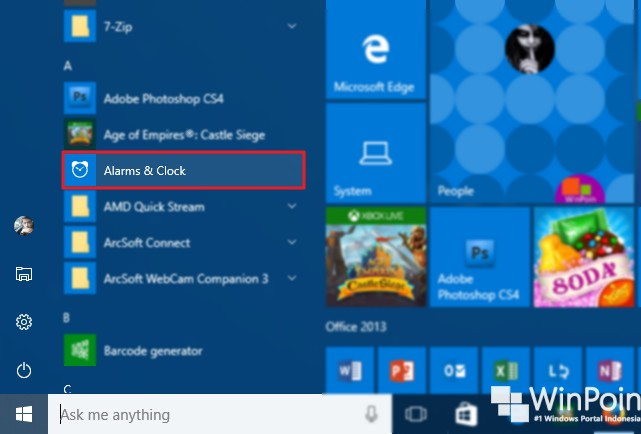 cara membuat alarm di windows 10 (1)