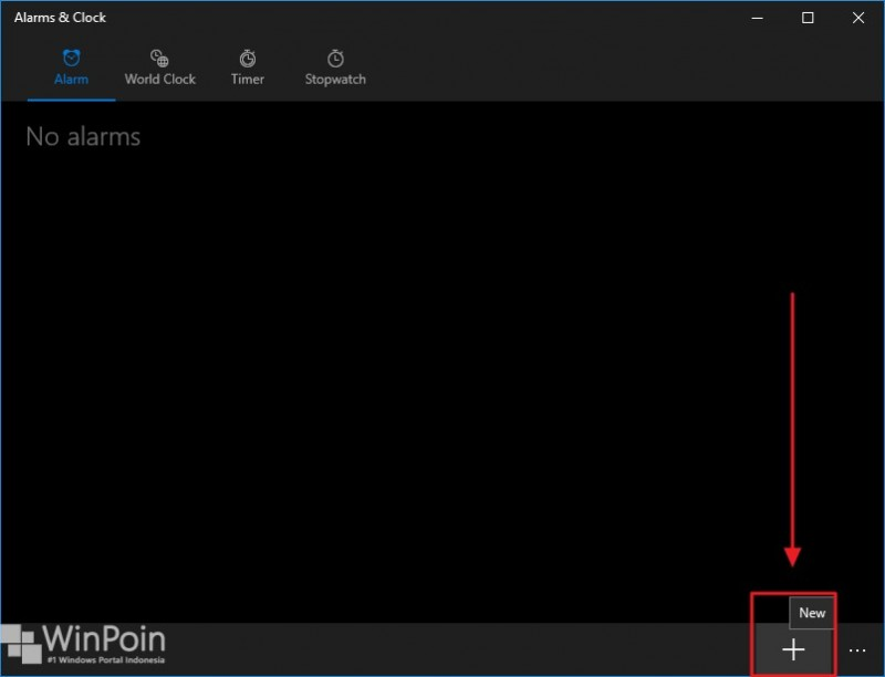 cara membuat alarm di windows 10 (2)