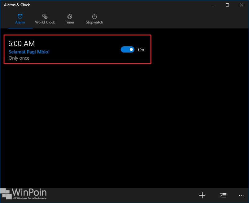cara membuat alarm di windows 10 (4)