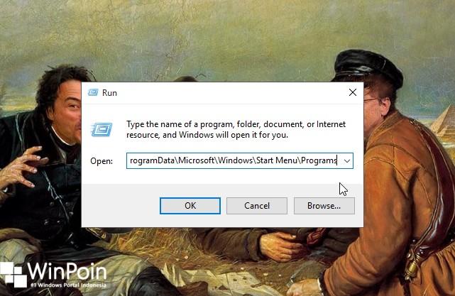 cara menambahkan folder apapun ke start menu (2)