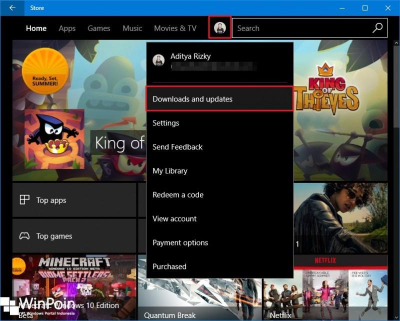 cek perbaruan aplikasi windows 10  (1) - Copy