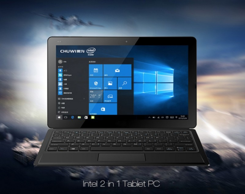 Chuwi Vi10 Ultimate: Tablet PC 2-in-1 Windows 10 Seharga 2.2 Jutaan