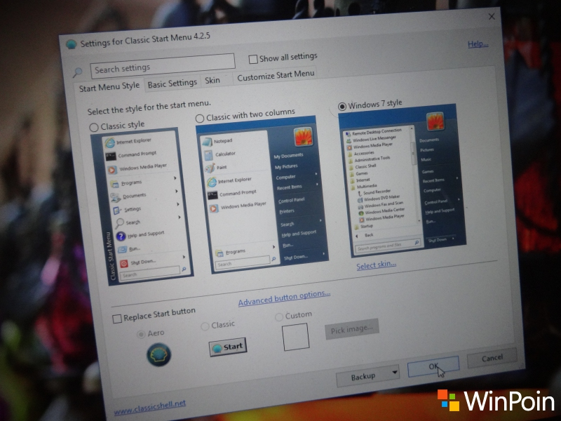 Cara Mendapatkan Start Menu Windows 7 di Windows 10
