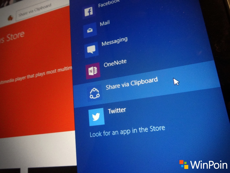 Cara Copy Link Aplikasi di Windows Store