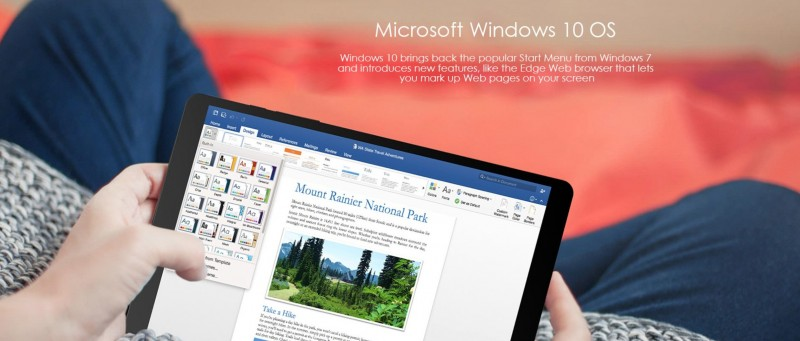 "Teclast X89 Kindow: Tablet Ebook Reader Windows 10 Murah ala ""Kindle"""