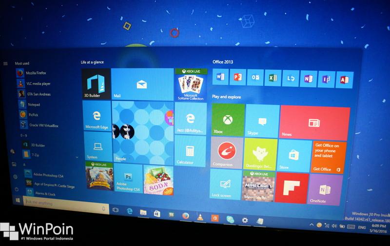 menambahkan kolom tile pada start menu windows 10 (1)