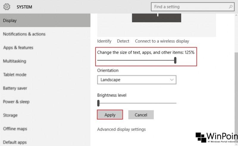 mengatur ukuran huruf di windows 10 (2)
