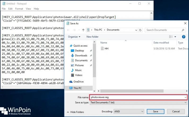 mengembalikan kembali windows photo viewer di windows 10 (2)