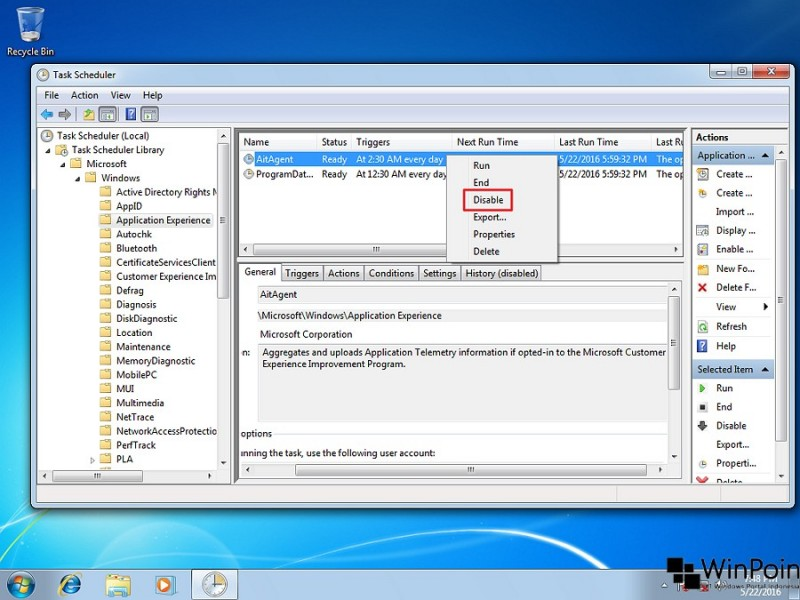 menonaktifkan telemetry di windows 7 (4)