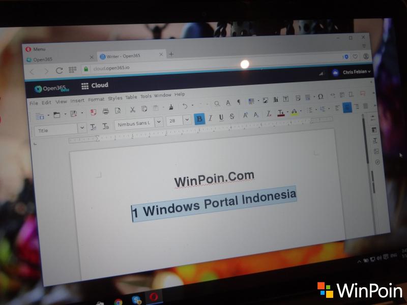 Mencoba Open 365, Alternatif Open Source Microsoft Office 365