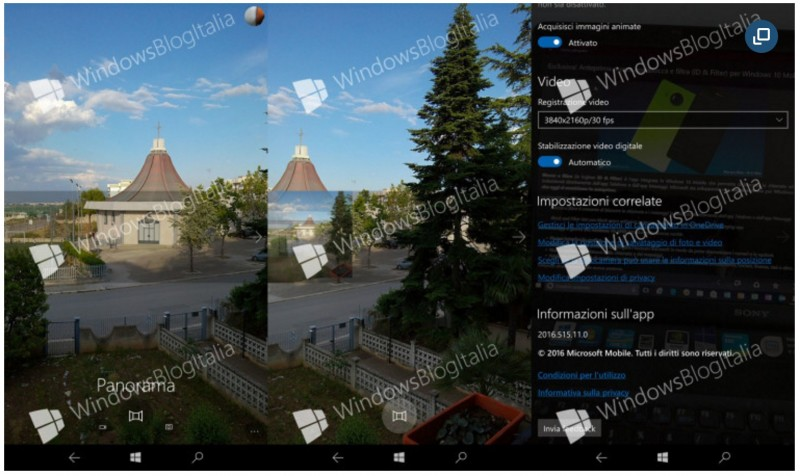 Fitur Panorama Segera Ditanamkan di Camera Windows 10 Mobile