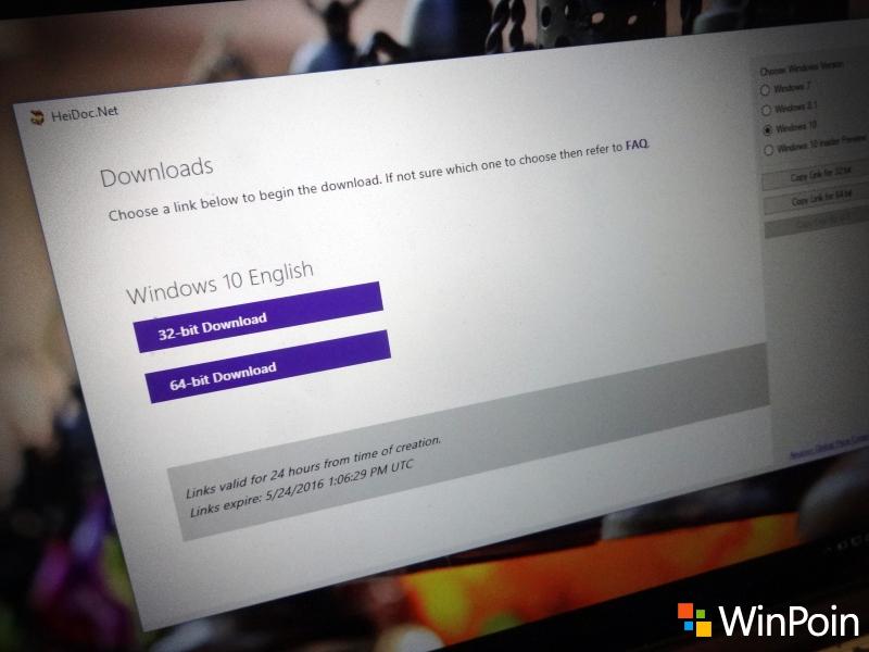 Inilah Tool untuk Download ISO Windows Langsung dari Server Microsoft
